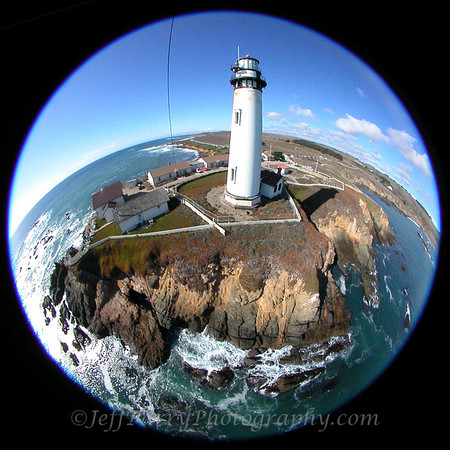 Pigeon Point Lighthouse, Kite Aerial Photograph