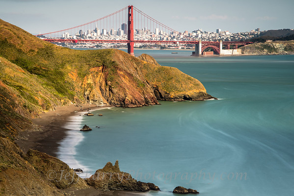 Marin Headlands beach