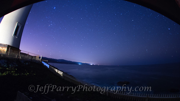 Starry Night at Pigeon Point