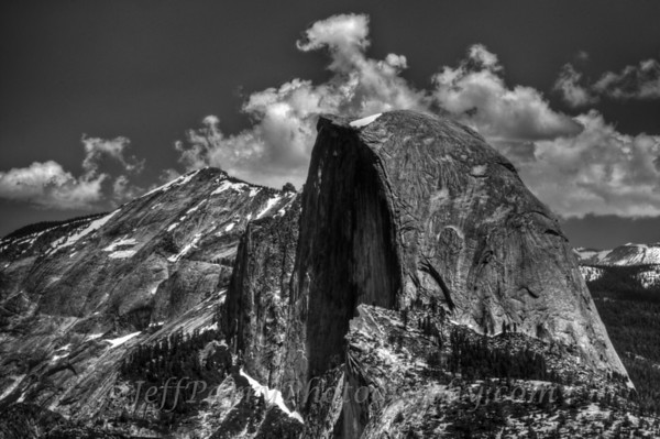Halfdome Black and White